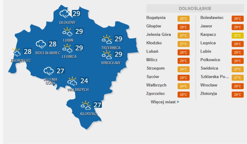 Na Dolnym Śląsku będzie dziś burzowo /INTERIA.PL