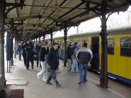 Na dworcach kolejowym zapanowało zamieszanie. /RMF
