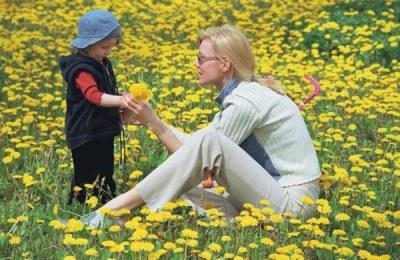 Na Dzień Matki proszę kwiatki... /INTERIA.PL