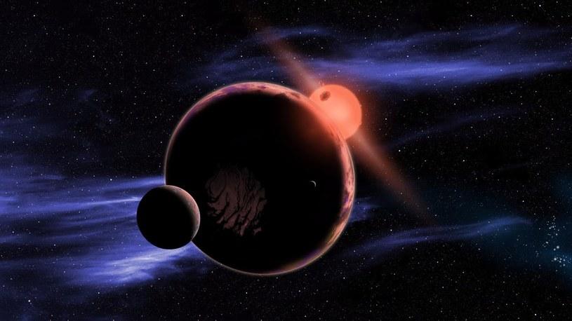 Na egzoplanetach krążących wokół czerwonych karłów nie ma życia? /materiały prasowe
