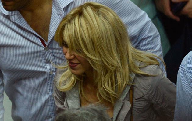 Na Euro Shakira dopinguje swojego ukochanego, piłkarza Gerarda Pique /Jasper Juinen /Getty Images