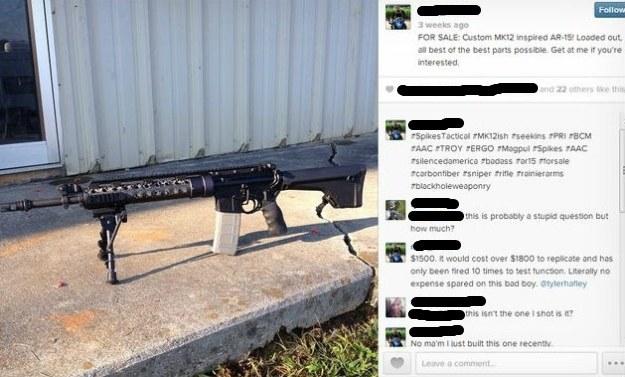 Na Facebooku można kupić różnego rodzaju broń palną /materiały prasowe