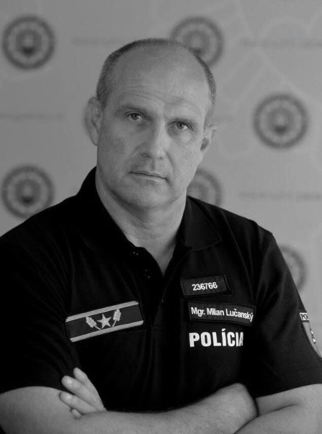 Na Facebooku o śmierci byłego szefa słowackiej policji powiadomiła jego rodzina. /Facebook / GeneralLucansky /facebook.com