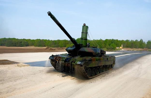 Na fot.  Leopard 2 A7 /AFP