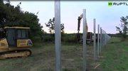 Na granicy chorwacko-węgierskiej powstaje mur. Ma przeszkodzić emigrantom