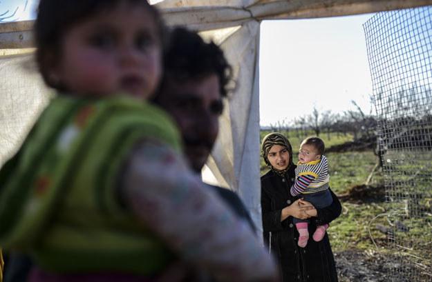 Na greckiej wyspie Lesbos około 30 procent imigrantów to dziec (zdjęcie ilustracyjne) /AFP