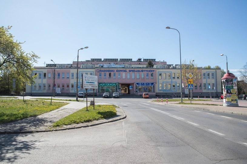Na jedynym oddziale zakaźnym w Radomiu brakuje miejsc dla chorych z COVID-19 /Tomasz Hamrat / Gazeta Polska /Agencja FORUM