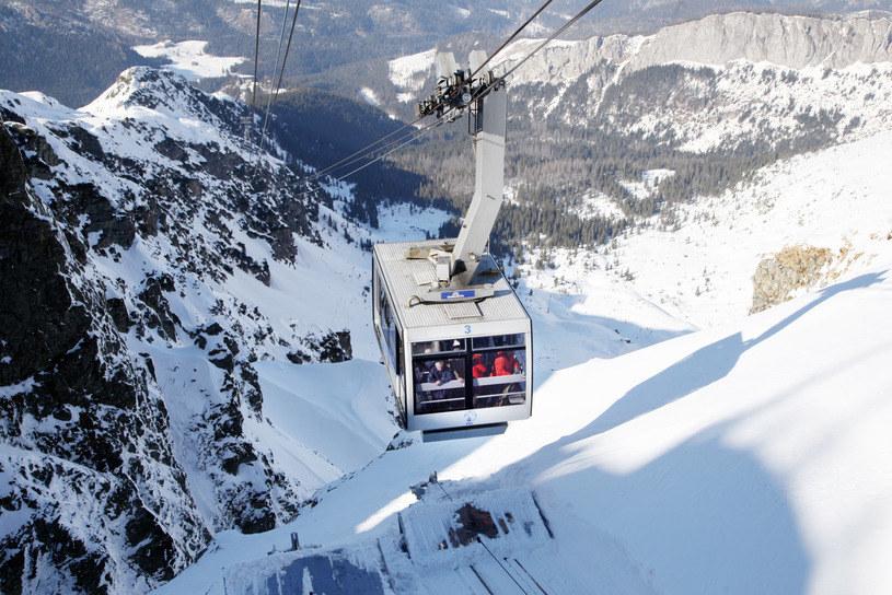 Na Kasprowym Wierchu leży ponad 1,5 metra śniegu /Piotr Guzik /Agencja FORUM
