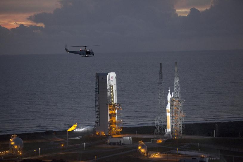 Na kilka godzin przed startem - Przylądek Canaveral, Floryda Foto NASA/Kim Shiflett /NASA