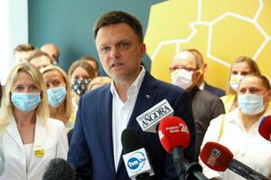 """Na kogo zagłosuje Szymon Hołownia? """"Zrobię to bez przyjemności"""""""