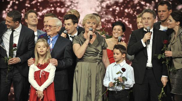 Na koncercie pojawili się niemal wszyscy aktorzy związani z serialem / fot. Gałązka /AKPA