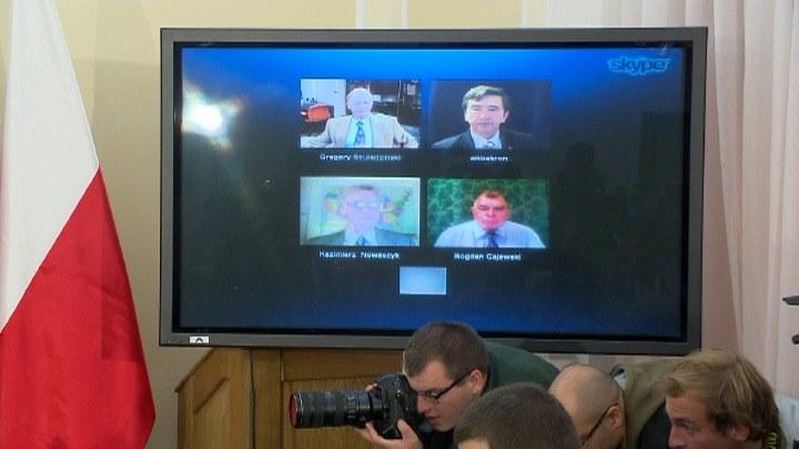 Na konferencji pojawiły się problemy techniczne /TVN24/x-news