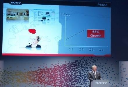 Na konferenrencji nie zabrakło Polski. Sony w naszym kraju radzi sobie bardzo dobrze. /INTERIA.PL
