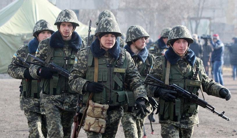 Na Krymie znajdowały się 193 jednostki sił zbrojnych Ukrainy. /AFP