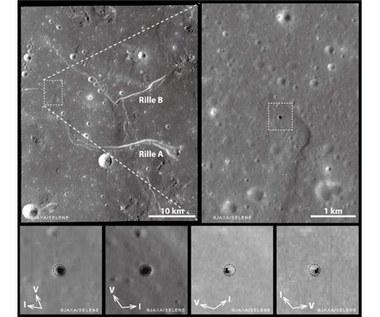 Na Księżycu istnieją duże jaskinie lawowe?