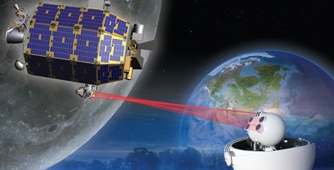 Na Księżycu można uzyskać szybszy internet, niż w sporej części krajów na naszym globie. /materiały prasowe