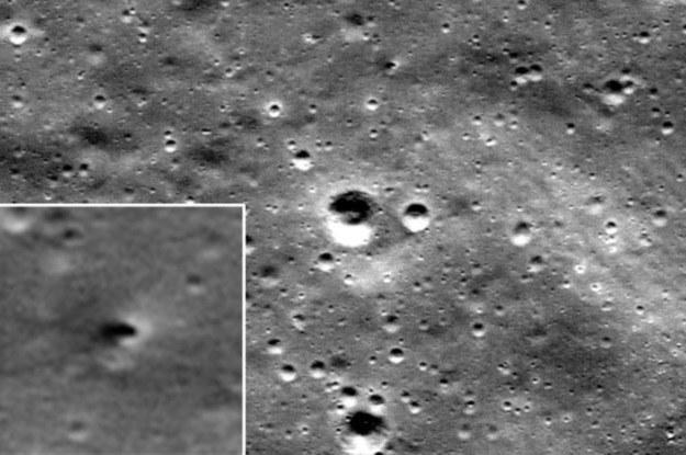 Na Księżycu powstał kolejny krater /NASA