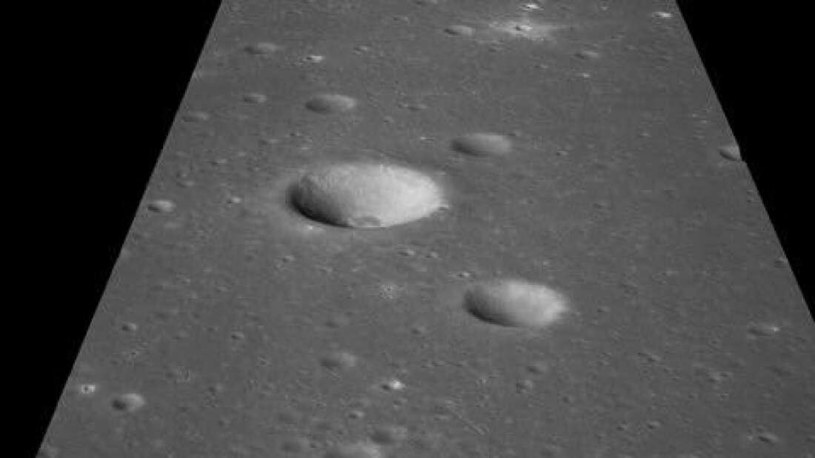 Na Księżycu wciąż jest wiele nieznanych kraterów uderzeniowych /materiały prasowe