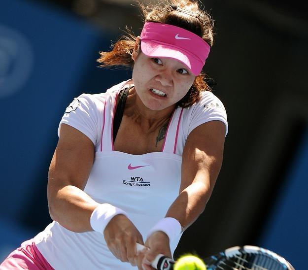 Na Li została pierwsza finalistką turnieju w Sydney /AFP