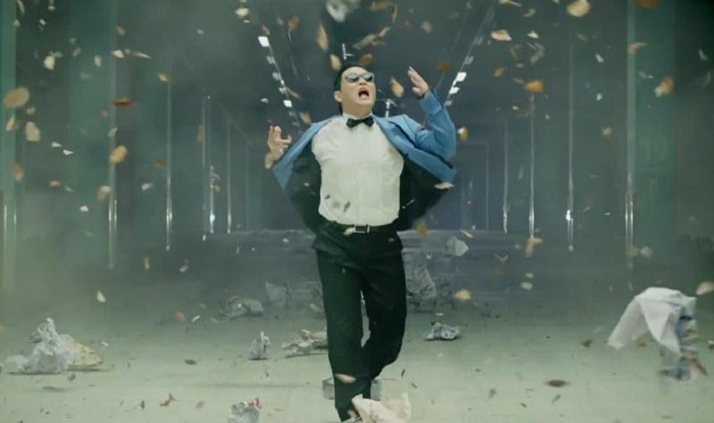 """Na liście nie zabrakło oczywiście """"Gangnam Style"""" /officialpsy /YouTube"""
