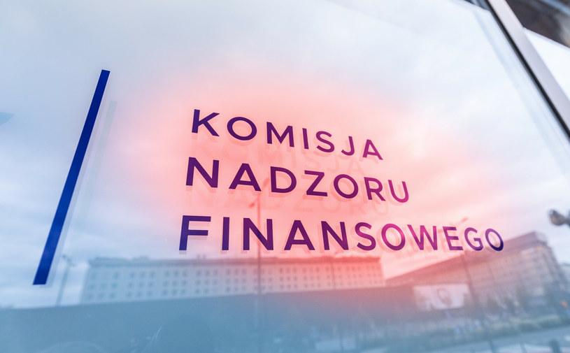 Na listę ostrzeżeń publicznych Komisja Nadzoru Finansowego wpisała nowy podmiot /Arkadiusz Ziółek /East News