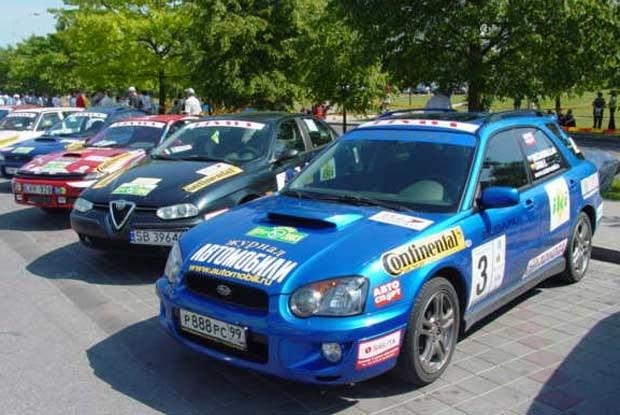 Na Litwie startowały  mocne samochody / kliknij /INTERIA.PL