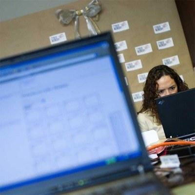 Na Litwie szybki internet jest w niemal co piątym domu /AFP