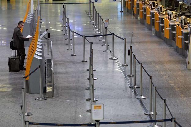 Na lotnisku we Frankfurcie rozpoczął się strajk ostrzegawczy /AFP
