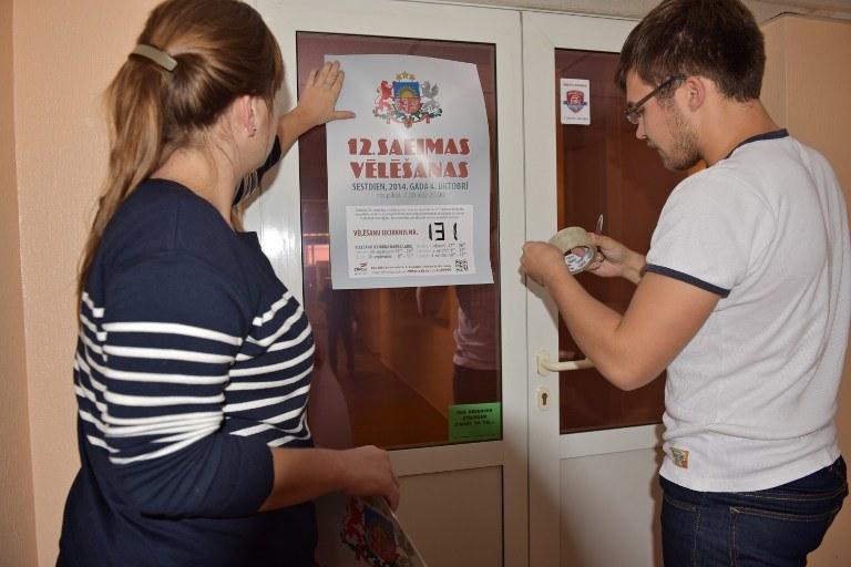 Na Łotwie rozpoczęły się w sobotę rano wybory parlamentarne /AFP