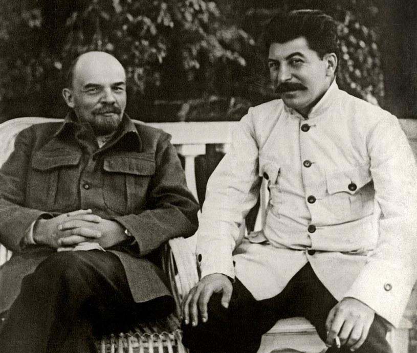 Na łożu śmierci Lenin próbował ostrzec innych przed Stalinem. Niestety, nikt go nie posłuchał /Fine Art Images/Image State /East News