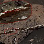 Na Marsie odkryto bor