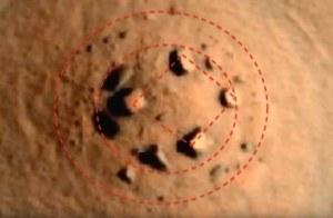 Na Marsie wypatrzono coś, co wygląda jak pozaziemskie Stonehenge