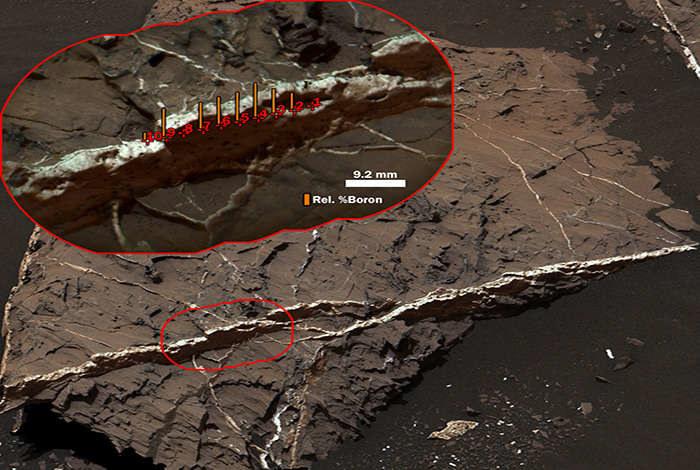 Na Marsie występuje bor /NASA