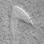 Na Marsie zlokalizowano dziwną strukturę, która przypomina... logo Star Trek