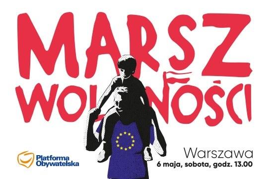 Na marsza zaprasza Platforma Obywatelska /platforma.org /