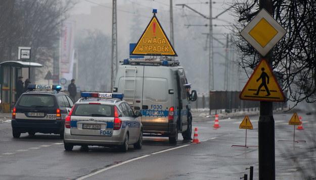 Na Mazowszu i Podlasiu panują trudme warunki na drogach /Grzegorz Michałowski /PAP