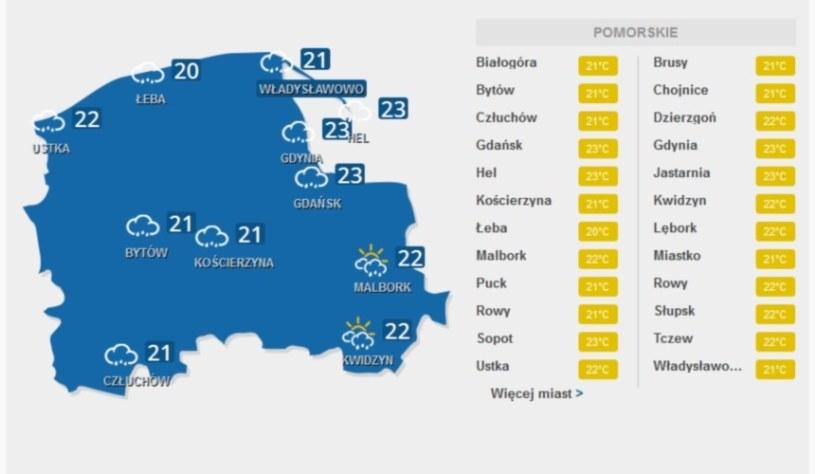 Na Mazurach będzie burzowo /INTERIA.PL