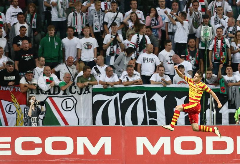 Na mecz Legia - Jagiellonia sprzedano najwięcej biletów - 13 654 /Leszek Szymański /PAP