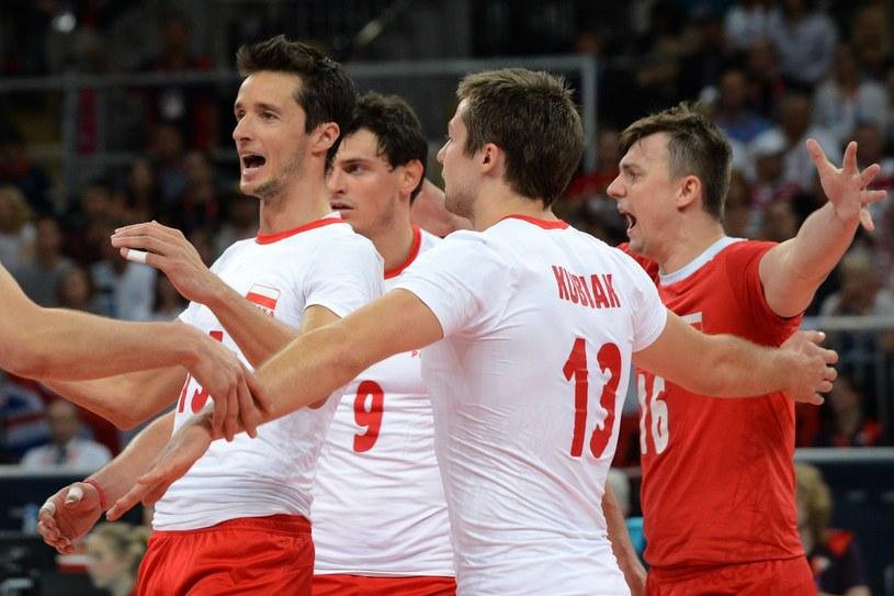 Na mecze Polaków (od lewej: Łukasz Żygadło, Zbigniew Bartman, Michał Kubiak, Krzysztof Ignaczak) warto przyjść. /AFP
