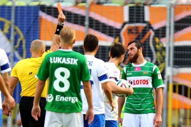 Na meczu Lechii Gdańsk z Lechem Poznań było ponad 25 tys. ludzi. /Piotr Wittman /PAP