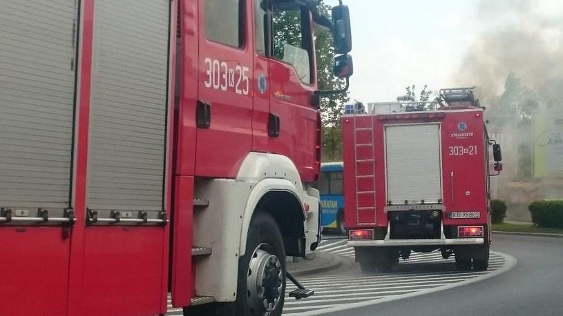 Na miejscu pojawiły się dwa zastępy straży pożarnej (zdjęcie ilustracyjne) /RMF FM