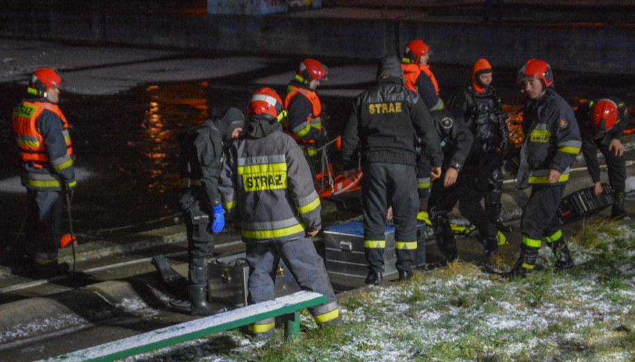 Na miejscu pracowało kilku zastępów straży pożarnej /Gorąca Linia RMF FM /Gorąca Linia RMF FM