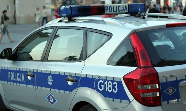 Na miejscu pracuje policja /Maciej Nycz /RMF FM