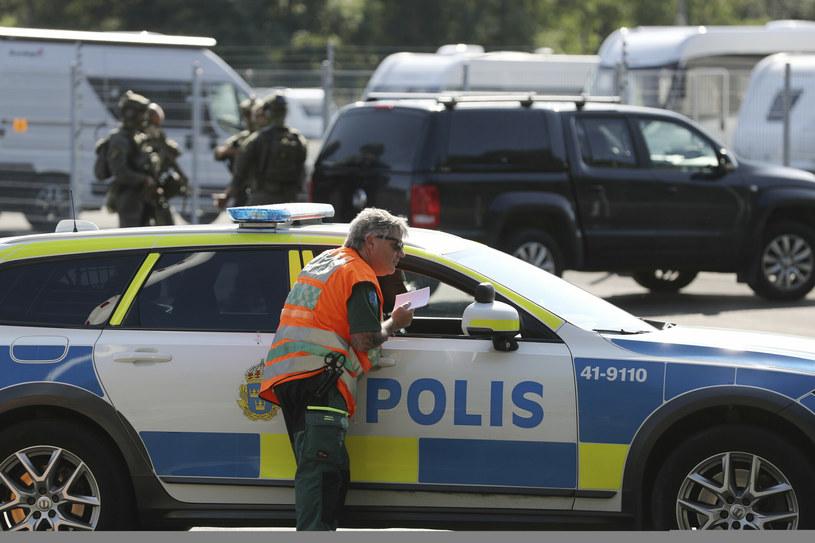 Na miejscu trwa akcja policji /TT NEWS AGENCY/Associated Press /East News