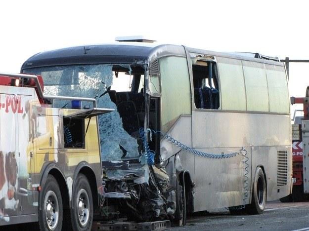 Na miejscu zginął kierowca autokaru /RMF