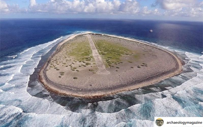 Na mikroskopijnej wyspie żyło i umarło wiele osób /instagram.com/archaeologymagazine /Instagram