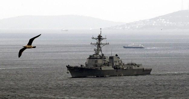 Na Morzu Czarnym do USS Truxtuna dołączy fregata USS Taylor /SEDAT SUNA /PAP/EPA