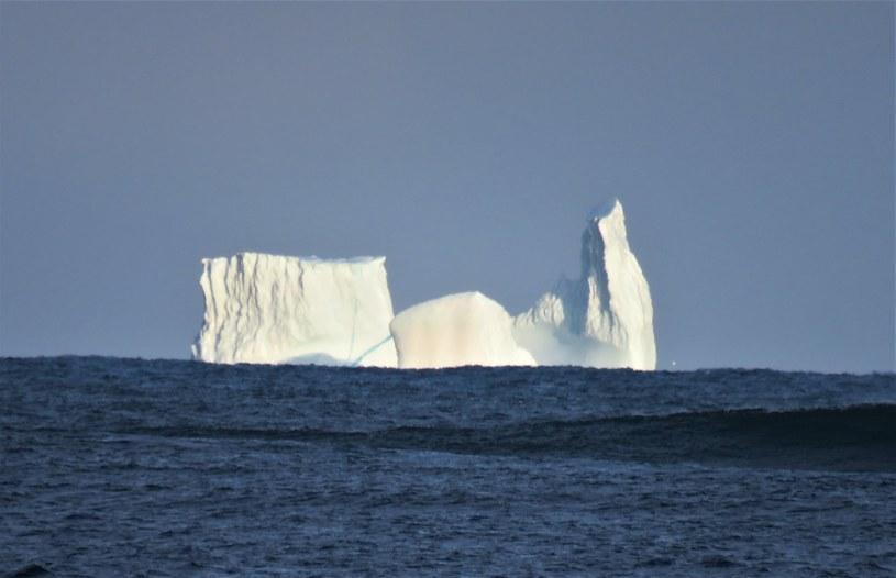 "Na Morzu Grenlandzkim zaobserwowano ""lodową katedrę"" (Źródło: Facebook/Rannsóknastöðin Rif - Rif Field Station) /"