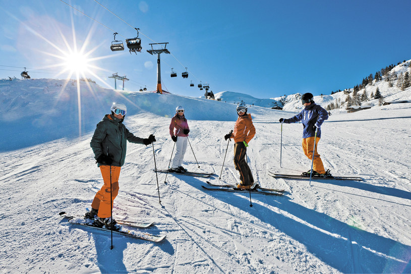 Na nartach, fot. ikarus.cc /materiały prasowe