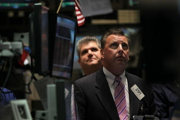 Na NYSE po otwarciu wyraźnie przeważała chęć realizacji zysków /AFP